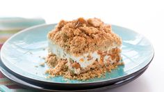 A quick and easy frozen no-bake dessert, spiked with Cinnamon Toast Crunch™