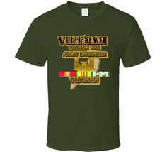 Vietnam War Veteran - Army Engineer - Military Green via Military Insignia Clothing and Products. Click on the image to see more!