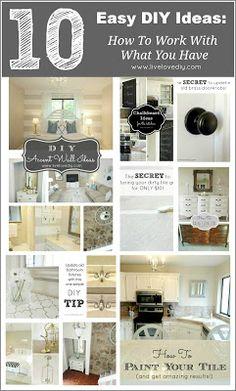 LOVE this DIY blog!