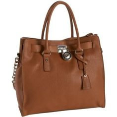 Michael Kors bag I just got this bag except mine has a gold lock and chainaa