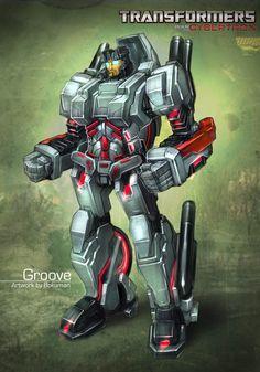 Protectobot Groove (Cybertron Version) Art By bokuman.deviantart.com on @deviantART