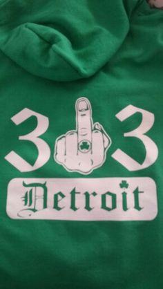 313 Detroit hoody