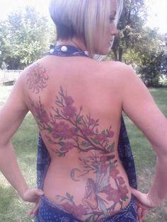 Image detail for - full back tattoo