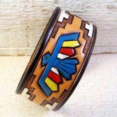 ~ Leather Bracelet Cuff
