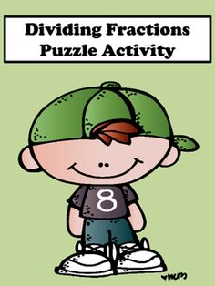 Dividing Fractions: Students will enjoy dividing fractions with this scrambler puzzle activity. This activity is great for remediation and differentiation.