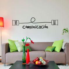 Comunicación. Vinilo decorativo