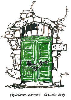 Dalius Regelskis | Doors of Crete | Rethymno