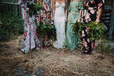Aimee & Nathan's Low Key Backyard Wedding - nouba. Summer Wedding, Our Wedding, Dream Wedding, Wedding Stuff, Low Key Wedding Dress, Wedding Photography Shot List, Wedding Vowels, Floral Bridesmaid Dresses, Brides And Bridesmaids