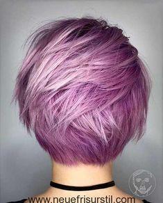 Pastell Rosa Haarfarbe Idee