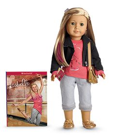 grandma's cookie jar: Special Birthday Month Give-Away - Isabelle the American Girl Doll of the Year American Girl Doll Pictures, My American Girl Doll, Ag Dolls, Girl Dolls, Pink Highlights, Bitty Baby, Special Birthday, Girl Doll Clothes, Girl Names