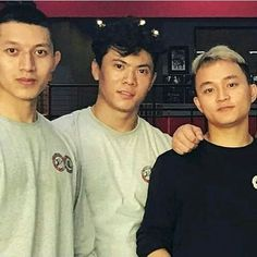 Zhenwei Wang, Shijia Lu, and Yi Zhao Karate Kid Actor, Family Nurse Practitioner, Jaden Smith, Tumblr Boys, Cute Celebrities, Asian Boys, Aesthetic Pictures, Film, Sport