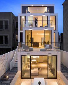 50 Oakwood by Stanley Saitowitz/Natoma Architects.