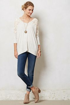 Colombe V-Neck #anthropologie