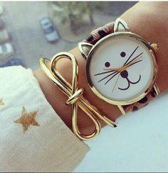 Kitty watch #cute #kitty