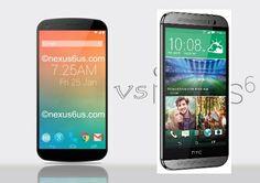HTC One M8  VS Nexus 6 - Specs and Price Review