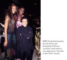 A Look Back at 30 Years of the CFDA Awards.