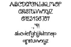 CUTE FONT: Google Image Result for http://sewn4youdesigns.com/images/CuteCurlsFontb.jpg