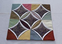 Funda de cojín de lino y algodón 45x45cm