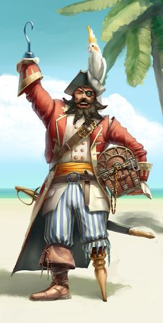 Pirate Character #character #pirate