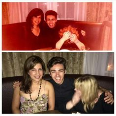 sharondastur: Last night, we did NOT try to recreate our picture at#BondStfrom March but just worked out that way. Another epic evening out with@rachelwood77and@nathansykeslaughing hysterically for 3 straight hours#nathansykes#sushi#nomeat#straightfromtheairport#chefmarc