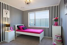 Elegance and flair, fit for a young girl as she ages.  Hawkes Bay Showhome.