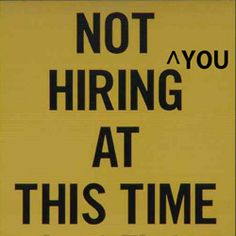 41 Reasons Recruiters Don't Hire You