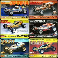 Kyosho Optima Series Luke Leung Rc Paint Scheme