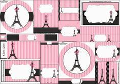 París: Etiquetas para Candy Bar para Imprimir Gratis.   Ideas y material gratis para fiestas y celebraciones Oh My Fiesta!