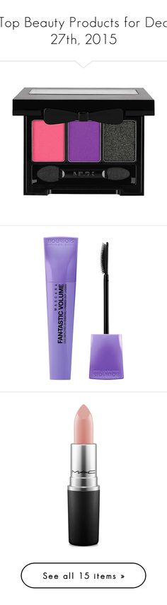 """""""Top Beauty Products for Dec 27th, 2015"""" by polyvore ❤ liked on Polyvore featuring beauty products, makeup, eye makeup, eyeshadow, beauty, eyes, nyx eye-shadow, nyx, palette eyeshadow and nyx eyeshadow"""