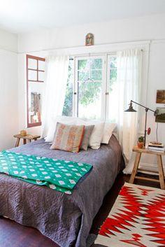 throw, rug   of a kind house tours.
