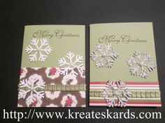 More Christmas card ideas.