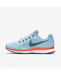 Nike Air Zoom Pegasus 34 Ice Blue Bright Crimson White Blue Fox 880555-404.  Animosity · running 45332af7b3dbe
