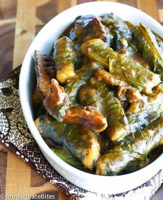 Ekwang Nigeria Food, Around The World Food, West African Food, Dominican Food, American Food, African Recipes, Ethnic Recipes, New Recipes, Food To Make