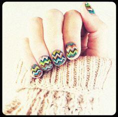 missoni nails, ulghhh, i want them so badly!