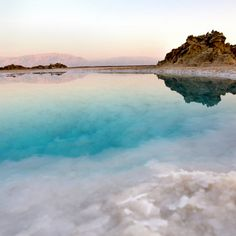 The dead sea. Israel.