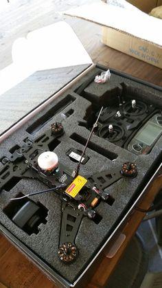 My new Walkera Runner 250. My next FPV drone will be a Walkera F210.