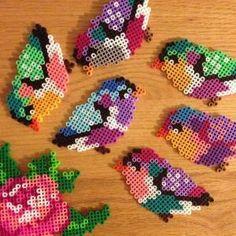 Birds perler beads by abbykristyne by lorie