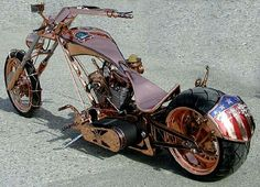 American Chopper was a unique and popular reality show about a family business fixing motorcycles. American Chopper, Custom Choppers, Custom Bikes, Sidecar, Orange County Choppers, Motos Harley Davidson, Davidson Bike, Motorcycle Tank, Chopper Motorcycle