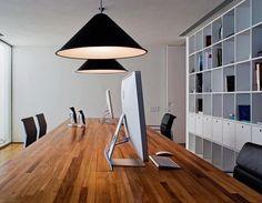 spacious work station