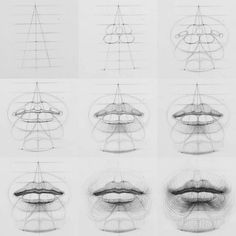 how to draw characters drawings aesthetic drawing tips asthetic drawings how to draw cute drawing reference drawing bodies aesthetic drawings drawing sky How to draw lips Arte Com Grey's Anatomy, Anatomy Art, Drawing Lessons, Drawing Tips, Drawing Skills, Drawing Heads, Painting & Drawing, Drawing Drawing, Drawing Faces