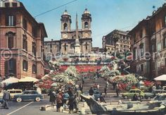 Instant Download Spanish Steps Rome Vintage by foundphotogallery