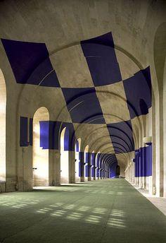 More Anamorphic Illusions by Felice Varini | 123 Inspiration