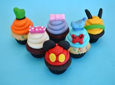 mickey mouse clubhouse cupcakes - Google Search