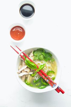 Pho, pronounced Fa, is a Vietnamese noodle soup that can be made with chicken or beef. Shortcut Chicken Pho is an easier way to cook pho without sacrificing the amazing pho flavor. Made with bone broth, pho is rich in minerals that support your immune system. It's the perfect comfort food when you're sick or [...]