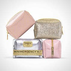 This minimergency kit will definitely come in handy on your big day.