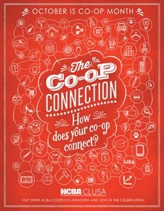 Co-op Month (October) 2014 graphics/posters from National Cooperative Business Association