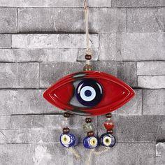 İhouse Nazar Boncuğu Göz Fiyatı, Taksit Seçenekleri ile Satın Al Goodluck Charms, Evil Eye Jewelry, Eye Of Horus, Ceramic Jewelry, Hamsa Hand, Clay Creations, Handmade Art, Ceramic Pottery, Quilling