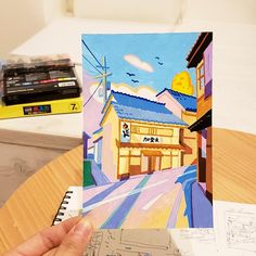 Part 1 of the Posca marker drawings I drew during my 21 days trip in Japan. :) You can get the new Japan travel zine, printed postcards and original art on Kickstarter:. Marker Art, Pen Art, Colorful Drawings, Art Drawings, Gouche Painting, Posca Art, Surrealism Painting, Guache, Art Sketchbook