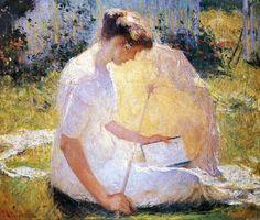19th-century American Women: American Artists Paint Reading Women