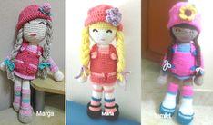 Patrón de muñeca amigurumi Anni